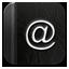 Contact Black Icon