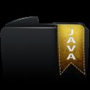Folder black java-128
