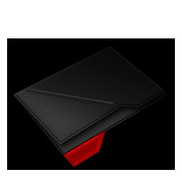 Empty Folder Red