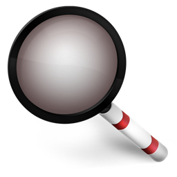 Magnifier red