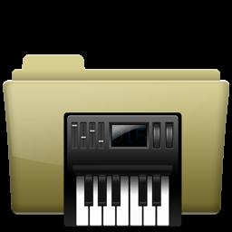 Folder Music alt Brown