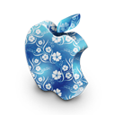 Mac blue flowers-128
