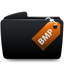 Folder black bmp-128
