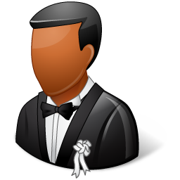Wedding Bridegroom Dark