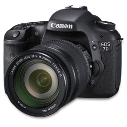 Canon 7D side