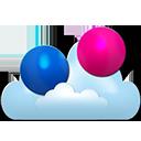 Flickr cloud-128