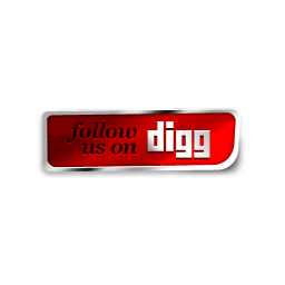 Digg follow us red