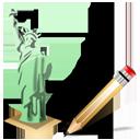 Statue of Liberty Write-128