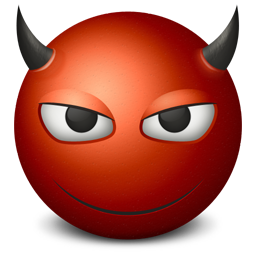 Emoticon Devil