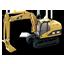 Hydrolic Excavator Icon