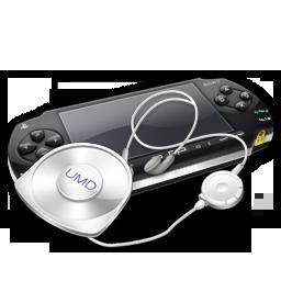 PSP umd headphones