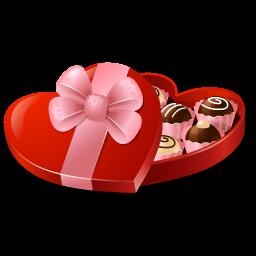 Candy Box Heart Shaped