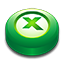 Microsoft Office Excel puck Icon