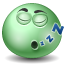 Sleeping emoticon icon