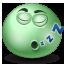 Sleeping emoticon Icon