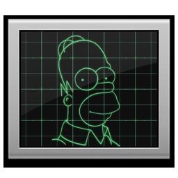 Simpsons Activity Monitor