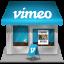 Vimeo Shop Icon