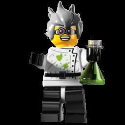 Lego Mad Scientist