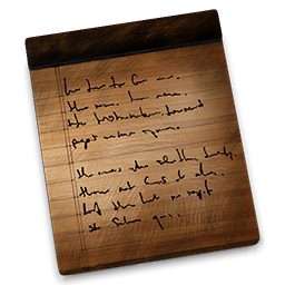 Notes Wooden