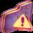 Caution Violet Folder-48