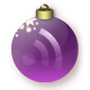 Feed Christmas Purple