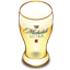 Michelob beer glass icon