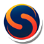 Round Skyfire icon