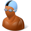 Swimmer Male Dark icon