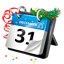 New Year Calendar icon