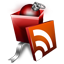 Rss gift icon