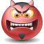 Devil emoticon Icon