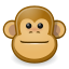 Gnome Face Monkey icon