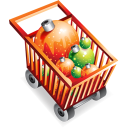 Christmas Shopping Cart Icon Download Dellixmas Icons Iconspedia