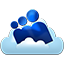 MySpace cloud icon