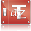 Preference Red Fonts Icon