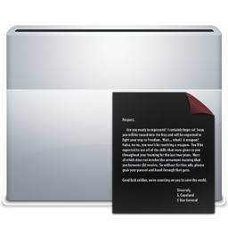 Folder Documents Dark