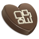 Digg heart-128