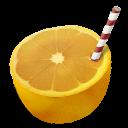 Orange straw