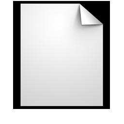 Document Generic white