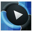 Media Player Inverse-128