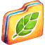 Leafie Folder icon