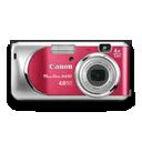 Canon Powershot A430 Rouge