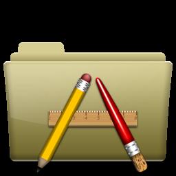 Folder Application Brown