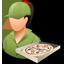 Pizzadeliveryman Female Light-64