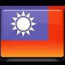 Taiwan Flag-128