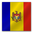 Republic of Moldova flag-128