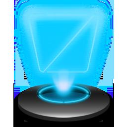 Recycle Empty Hologram