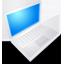Mac Book White On Icon