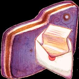 Mail Violet Folder