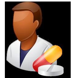 Pharmacist Male Dark